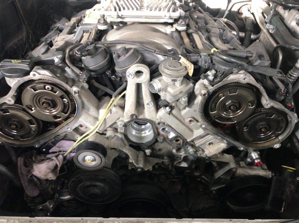 ベンツエンジン載せ替え・・・ベンツ修理相談室