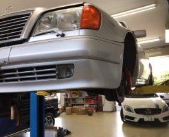 ベンツ修理W124