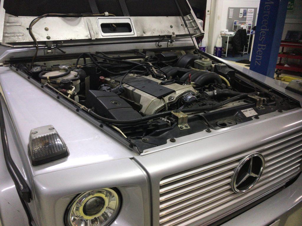 ベンツW463ゲレンデエンジン故障の修理