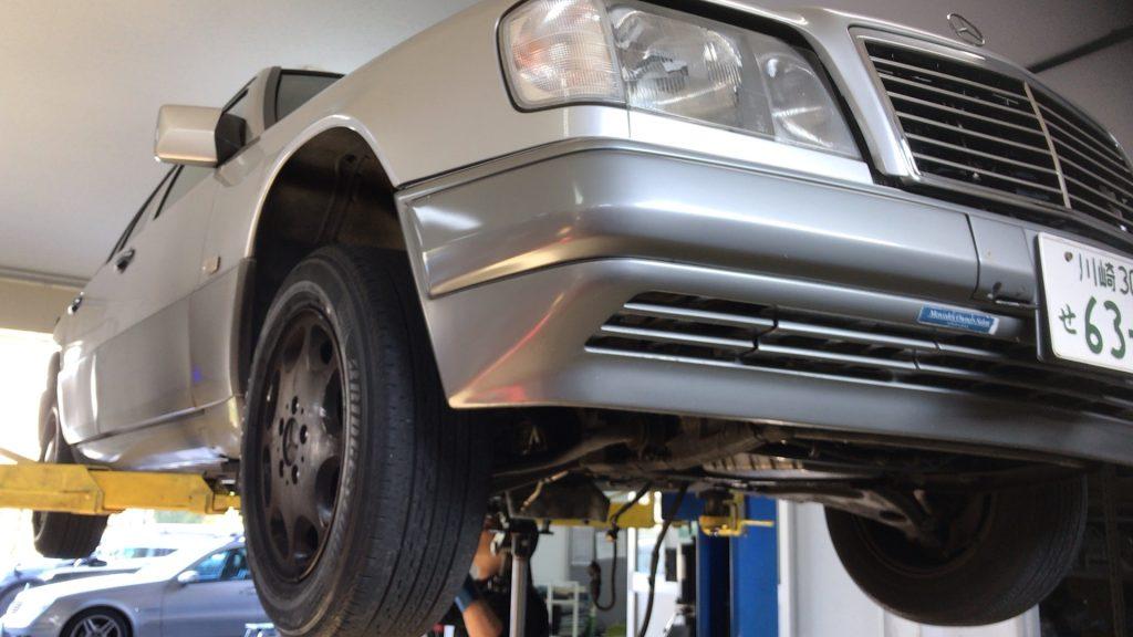 W124オートマ故障(バックに入らない)