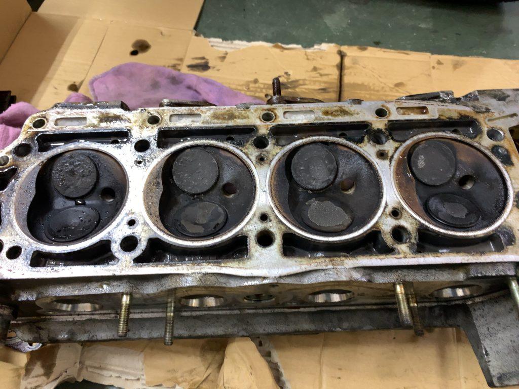 ベンツ190Eエンジン、足回りレストア