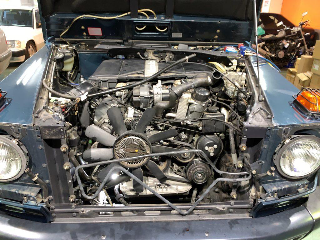 ディーラー見積もり260万円のW463車検修理