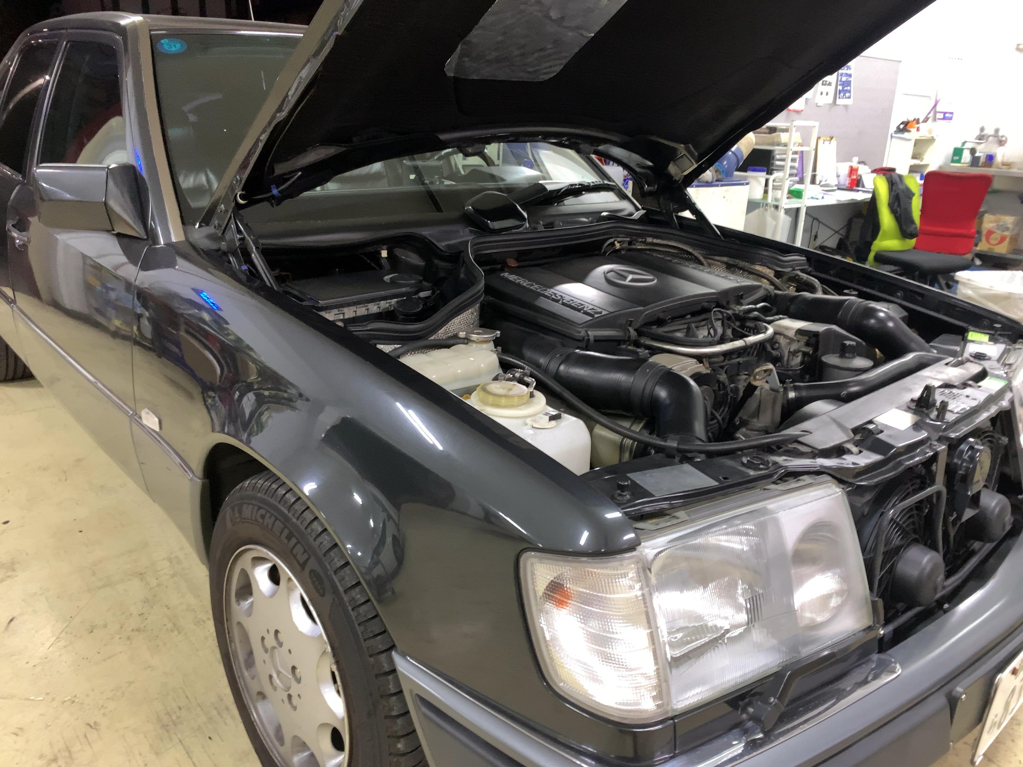 W124修理